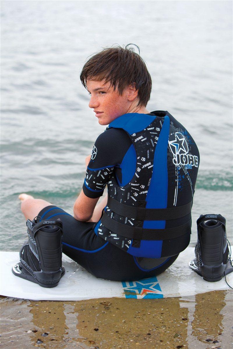 Baños Para Ninos Rebeldes:Detalles de Niños Neopreno Full Suit Traje neopreno Traje de surf