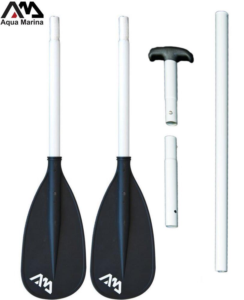 aqua marina kayak dual tech paddle sup paddle 2 in 1 sup kayak paddle ebay. Black Bedroom Furniture Sets. Home Design Ideas