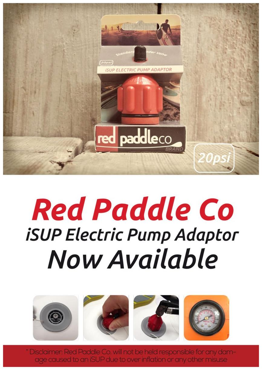 Red Paddle Co Sup Accessories Isup Electric Pump Adaptor