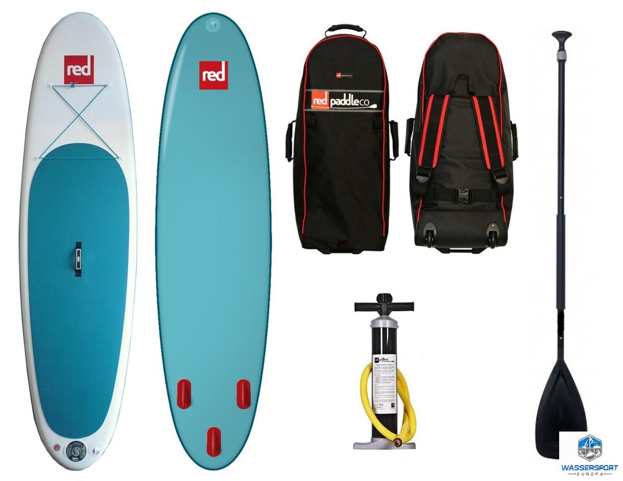 red paddle co isup set 10 8 39 family board inflatable stand up paddle surfboard ebay. Black Bedroom Furniture Sets. Home Design Ideas