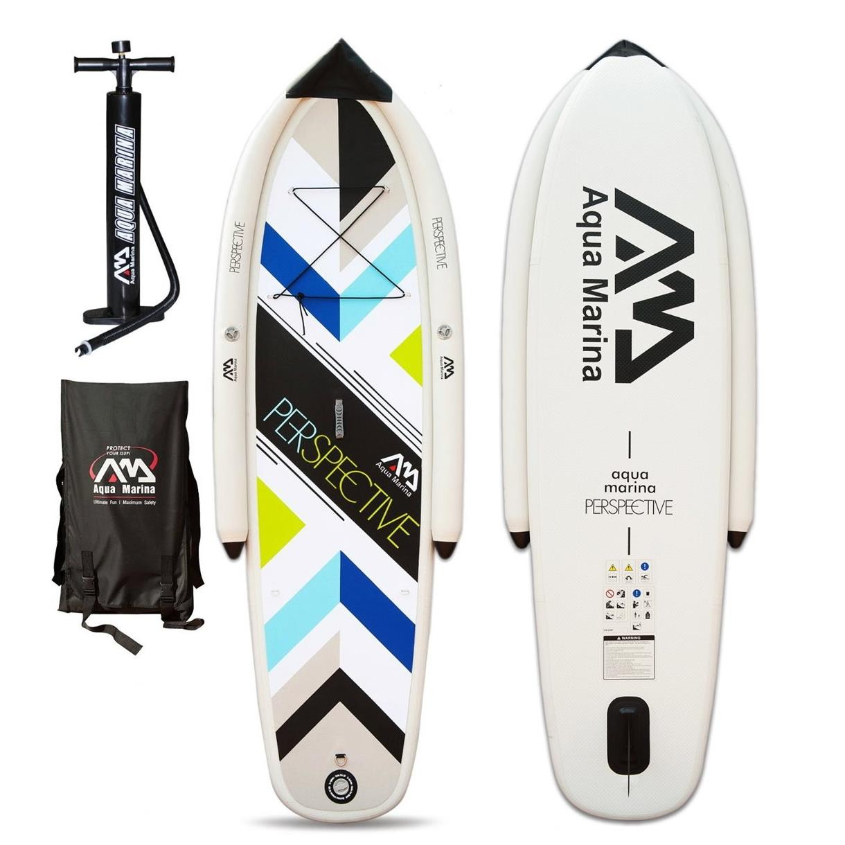 aqua marina perspective stand up paddling surfboard paddel sup board isup. Black Bedroom Furniture Sets. Home Design Ideas