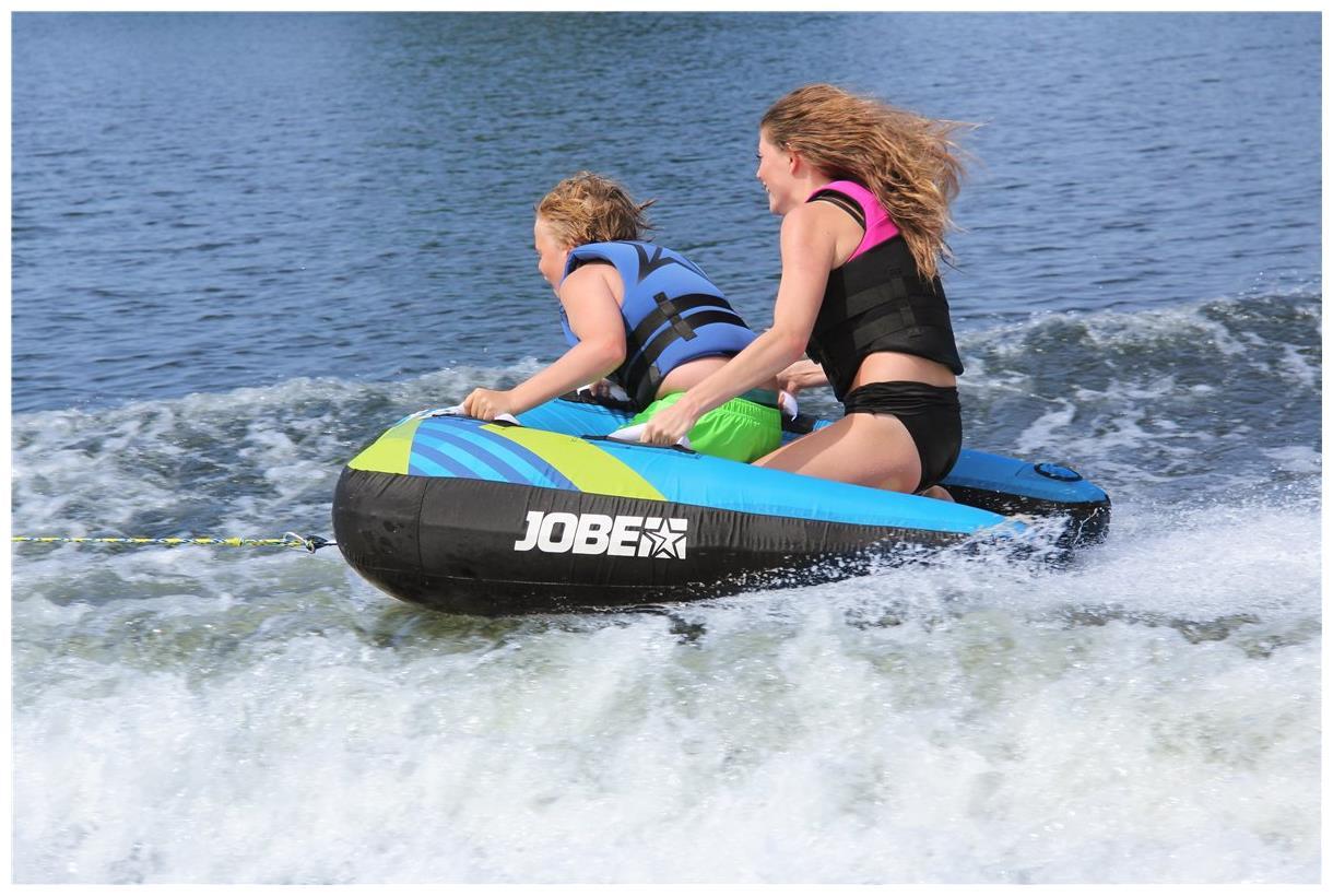 Jobe Tube TRIBAL II Funtube Sport Wassersport 2 Personen Tube Wasserring