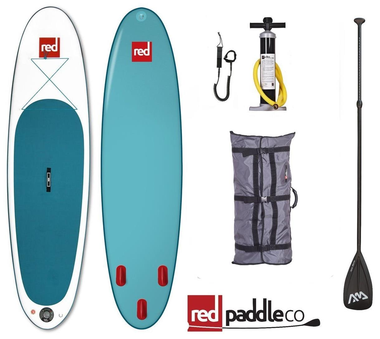 red paddle co isup set 10 6 39 stand up paddle surfboard inflatable paddle pump ebay. Black Bedroom Furniture Sets. Home Design Ideas