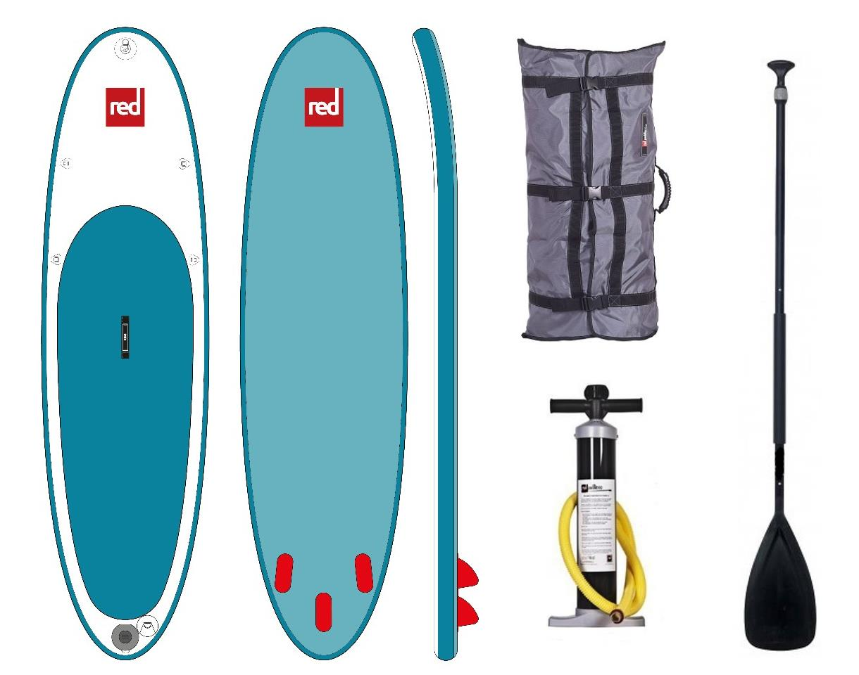 red paddle co isup set 10 8 39 familienboard inflatable stand up paddle surfboard. Black Bedroom Furniture Sets. Home Design Ideas