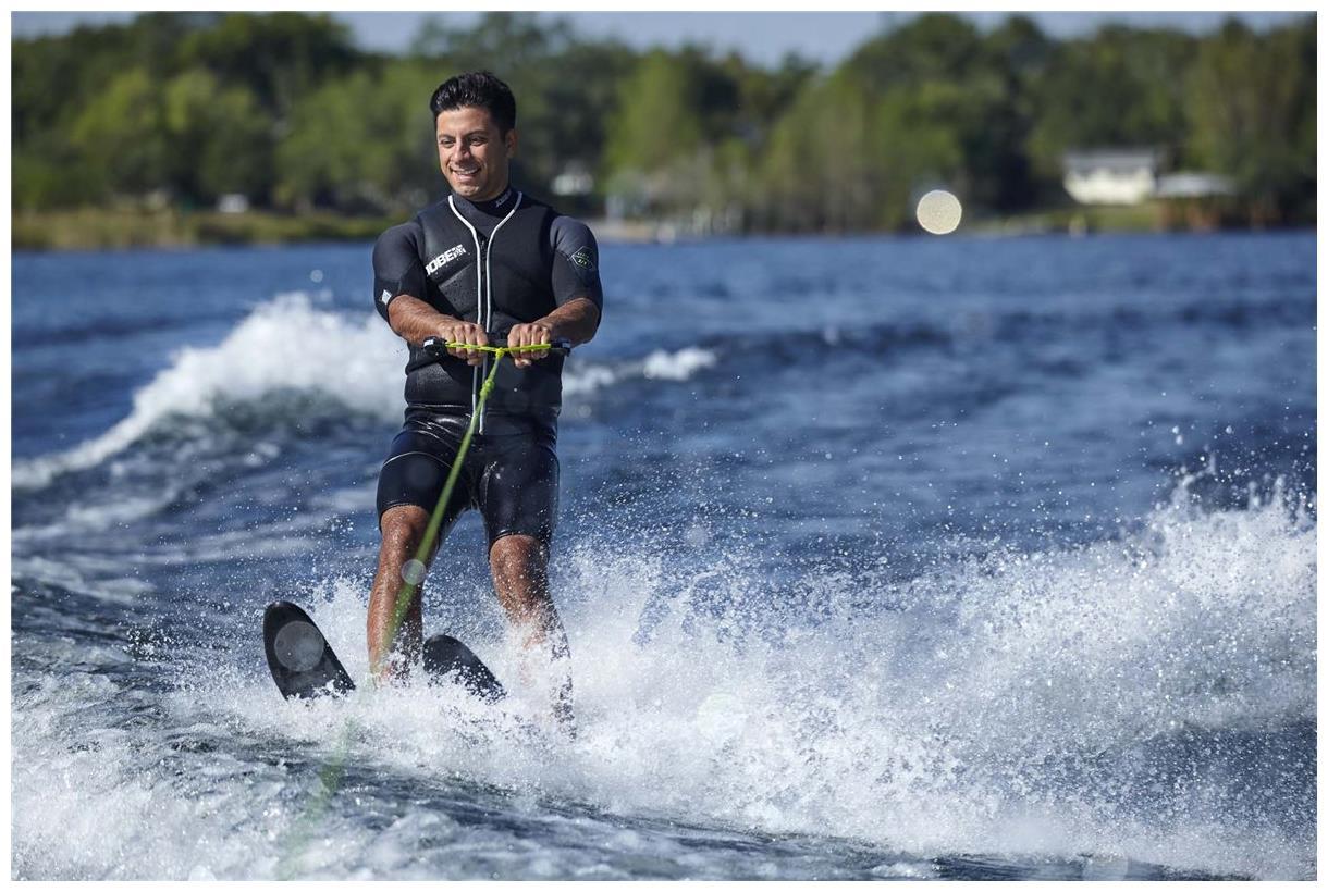 Jobe Ski Combo Transfer Ski Nautique Wakeboard Board Haltère Laisse