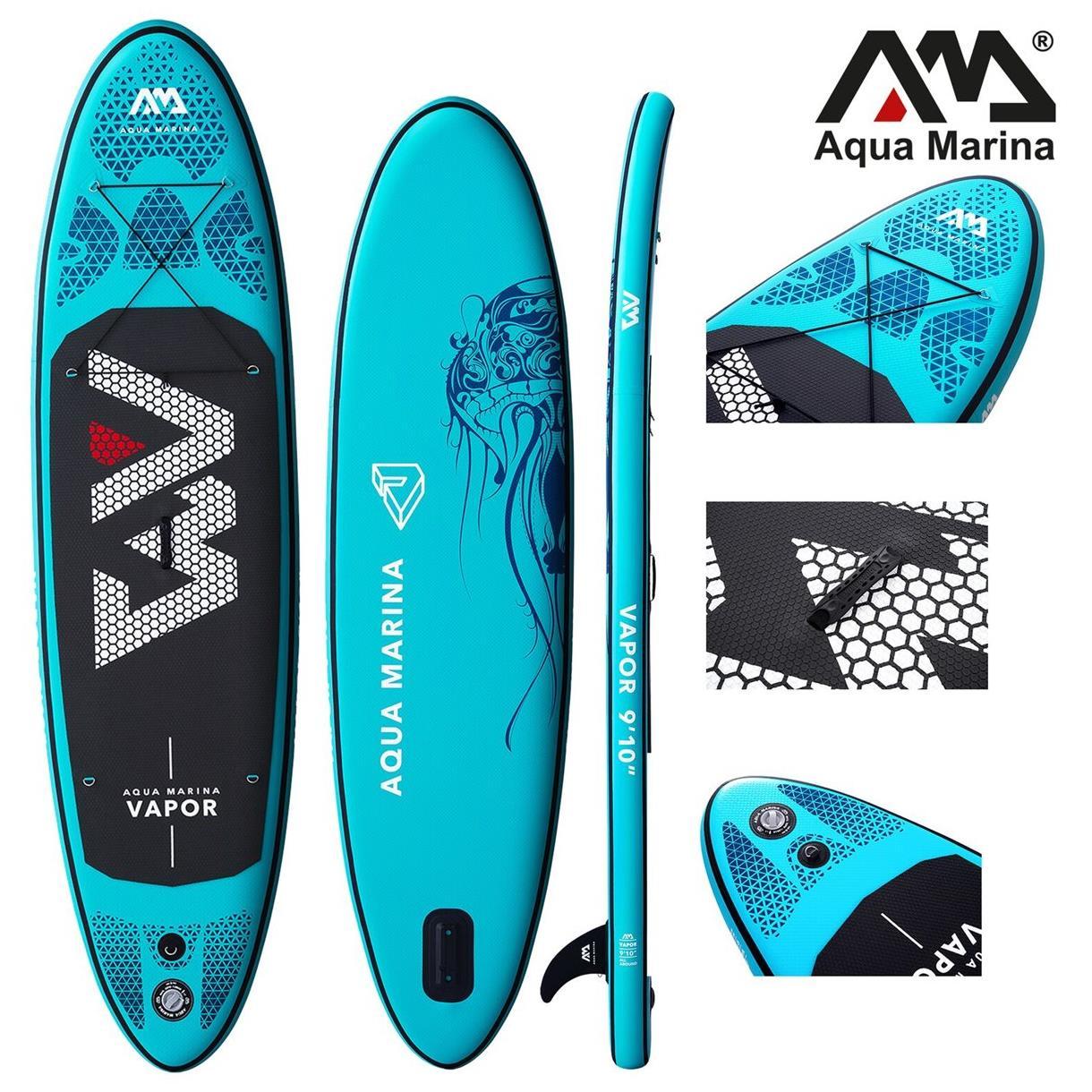 Aqua Marina Vapor 2019 Sup Board Hinchable Stand Up Paddle